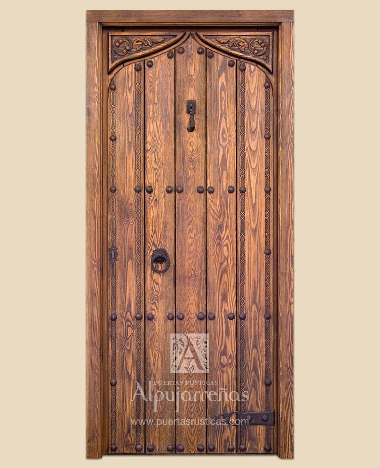 Puertas Rusticas Alpujarrenas Fabrica De Puertas De Madera Rustica
